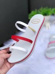 Linda sandálias