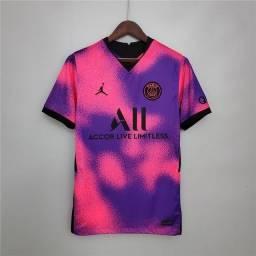 Camisa PSG e Roma Pronta Entrega