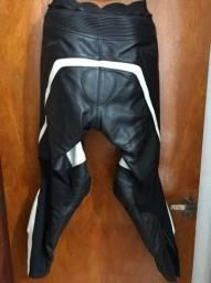 Macacão Motociclista Usado Tutto Racing 2 Peças - Tamanho 52