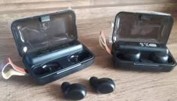 Tws F9 Bluetooth  Fone de Ouvido  +  Power Bank