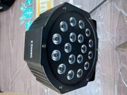 Kit Festa Iluminação Bola Maluca - Refletor Led par RGB - Strobo - Laser