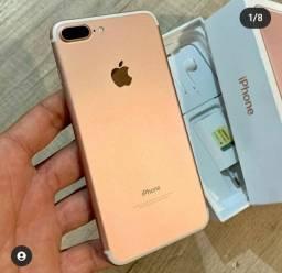 Iphone 7 plus 32 gb gold rose estado de novo
