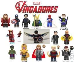 """Lote 15 Legos Vingadores R$ 142,00 """"Compatível com Lego"""""""
