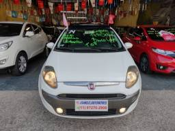 Fiat Punto Sporting Automática 2014 Com Teto Solar, Top!