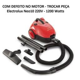 Defeito No Motor - Aspirador De Pó Electrolux 220v Modelo Neo10 1200w Com Acessórios