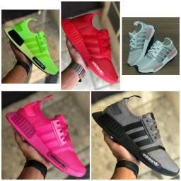 Vendo Tênis Adidas nmd e new balance sock ( 120 com entrega)