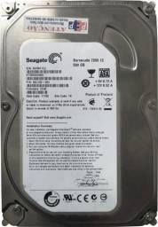 HD 500gb Seagate Barracuda 7200. 12