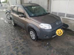 Fiat Uno 1.4  2012 Completo de tudo