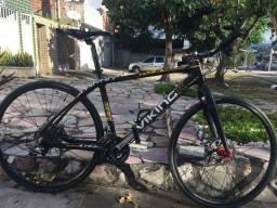 Bike bikingx karbo 27.5 com rodas 29