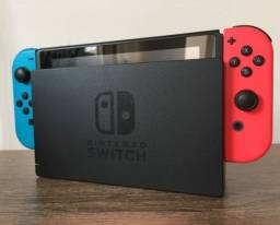 Nintendo Switch Neon - Nova Edição USADO + 14 jogos Digitais