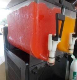 Máquinas de Frozen 02 cubas - Nevadinha, raspa raspa