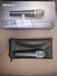Microfone Shure Beta 57A Dynamic