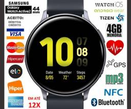 Smartwatch Galaxy Watch Active2 44mm 4GB Tizen, GPS, Bluetooth, Novíss, Cx, NF, Gar
