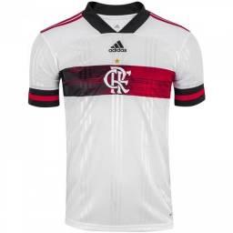 Camisa  Oficial do Flamengo  Branca  2020, Camisa da Seleção da Espanha, mais  Brinde