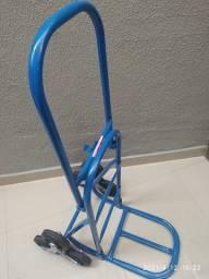 Carrinho Armazém Dobrável 3 Rodas 150 KG Eixo 7/8 três rodas