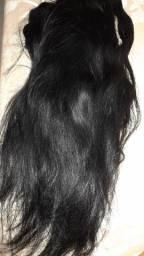 4 telas  de cabelo HUMANO aceito cartão