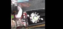 Placa de vídeo Pc express 2.0 1 gb DDR3
