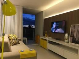Apartamento com 2/4 à beira-mar de barra de São Miguel