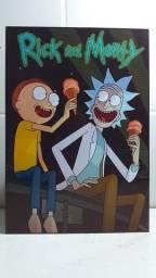 Rick and Morty Placas Decorativas