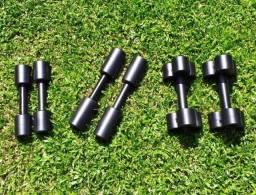 Halteres para academia musculação direto de fabrica