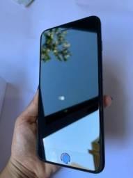 Iphone 7 plus, preto fosco, 32gb, ótimo estado