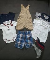 Lote roupas de bebê 6 à 12 meses