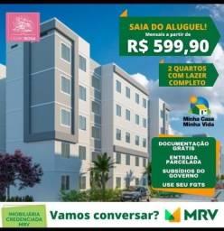 Apartamentos a 4 minutos do centro de Campo Grande-RJ