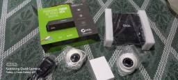 Câmeras de segurança novas