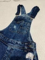 Macacão jeans Renner