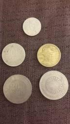 Lote moedas de reis