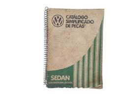 Catálogo Simplificado Peças Fusca 1600 Gasolina Álcool