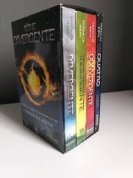Box Divergente (Divergente, Insurgente, Convergente, Quatro)