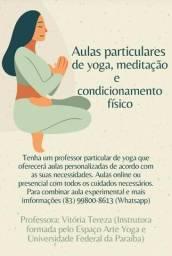 Aulas particulares de yoga