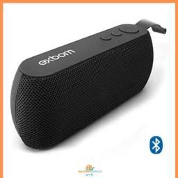 Caixa De Som Bluetooth Portátil Exbom Color Mini Speaker Sem Fio