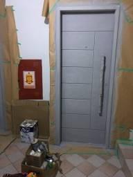 Laqueamento de portas com pintura