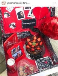 Festa na caixa, kit festa, cestas, bolos de aniversário , presentes