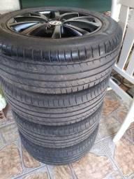 "Rodas jetta 16"" pneus Michelin"