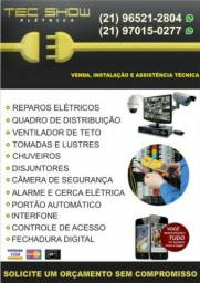 Instalação de ventilador teto e Eletricista