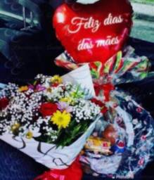 Delivery de Cestas flores pelúcia chocolate buquês rosas etc