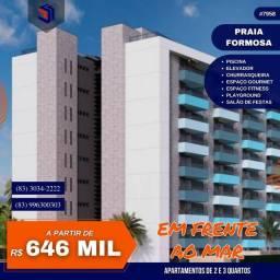Título do anúncio: Apartamento para Venda em Cabedelo, Praia de Formosa, 2 dormitórios, 1 suíte, 2 banheiros,