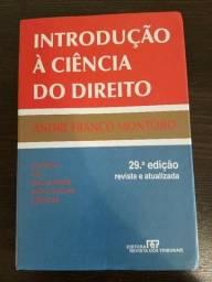 Introdução à Ciência do Direito - André Franco Montoro (29ª edição)