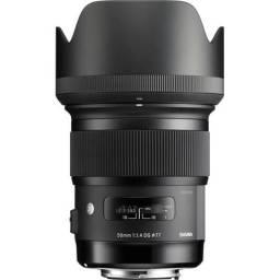 Lente Sigma 50mm F/1.4 Dg Hsm Art para Canon (NOVA)