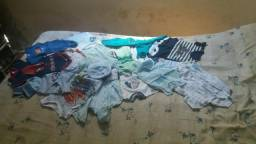 20 peças de roupas