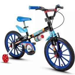 PROMOÇÃO bicicleta tech boys aro 16 NOVA