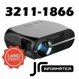 Projetor Pctop 3200 Lumens USB/HDMI/VGA | NOVO | Garantia: 01 ANO