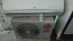Vendo ar condicionado de 9 mil BTUs LG