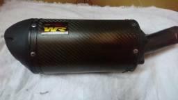 Escap esportivo WR em fibra de carbono Z750/Z 800/ cbr 1000 / Hornet, etc.