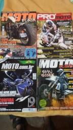 Revistas de motos. todas por 30 reais