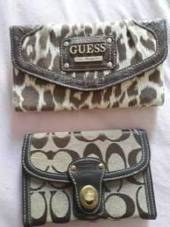Bolsas e Carteiras da Guess e Coach - Originais