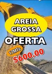 Mega oferta ( Areia Grossa 17mt R$ 600.00